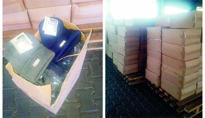 Foto: Fesuri contrafăcute, confiscate în Portul Agigea