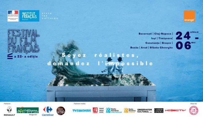 Foto: Festivalul Filmului Francez, în perioada 24 aprilie - 6 mai, la Constanța