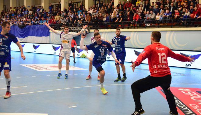 Foto: HC Dobrogea Sud, doar varianta victoriei în meciul cu Dinamo