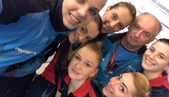 Foto: Tenis de masă: Samara şi compania, în finala Campionatului European