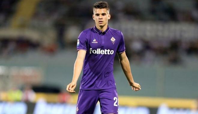 """Foto: Fiorentina nu renunţă uşor la Ianis Hagi.  """"Este mai talentat decât Chiesa şi Simeone"""""""