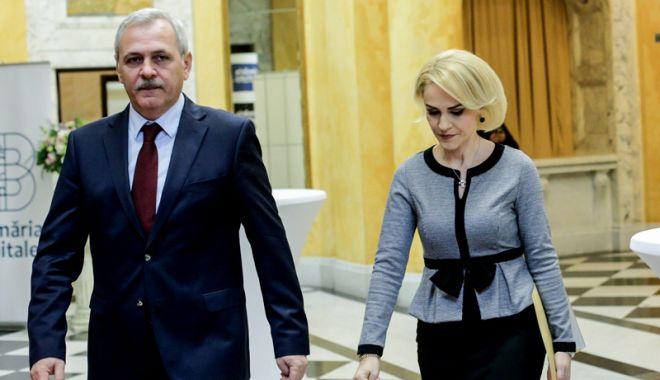 """Foto: Continuă disputa Firea contra Dragnea. """"PSD este condus dictatorial"""""""