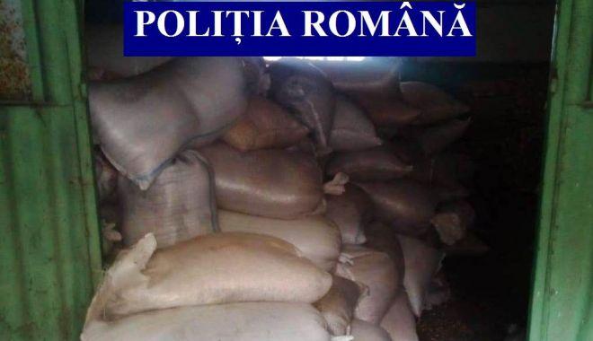 Foto: Flagrant şi 24 de perchiziţii, la Constanţa. 17 persoane reţinute pentru furt calificat