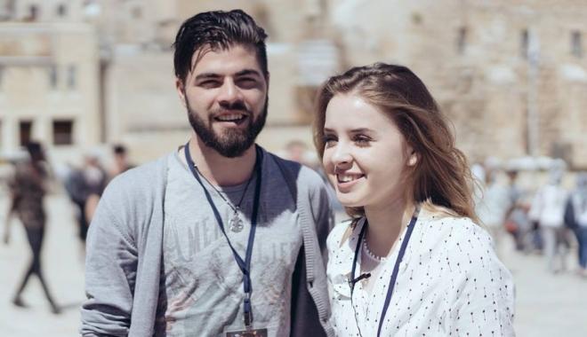 Foto: EUROVISION 2017 / Ilinca Băcilă şi Alex Florea, în finală