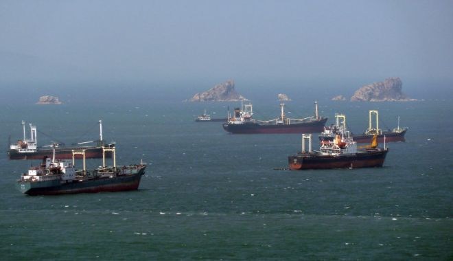 Foto: Flota comercială a României, acum 20 de ani. Marinari, victime ale legislației și abuzurilor