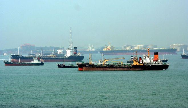 Foto: Navigatorii protestează împotriva sclaviei din flota națională