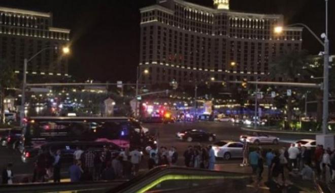 Foto: Atac armat în Las Vegas. Cel puțin două persoane au fost ucise în timpul unui concert