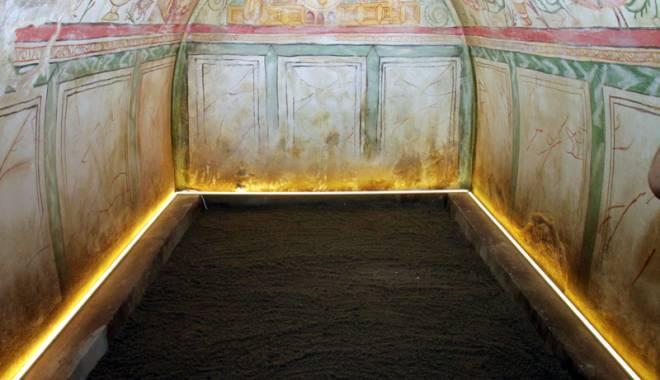 Foto: Premieră la Constanţa. Monument cheie al Tomisului antic, sub ochii constănţenilor