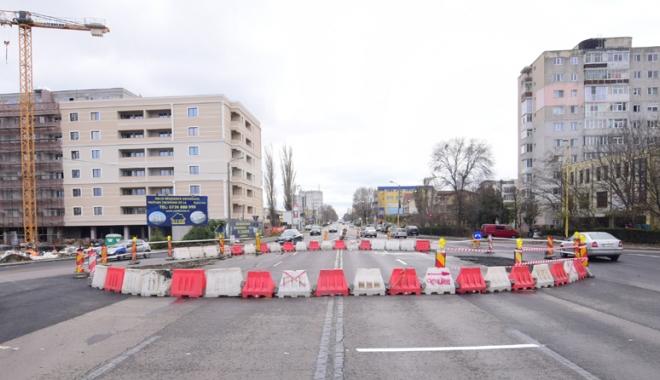 """Foto: Constanţa, """"capitala"""" sensurilor giratorii. """"Este cea mai bună soluţie pentru traficul din România"""""""