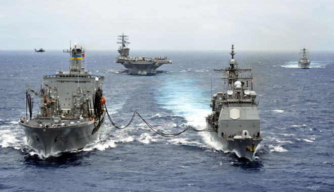 Foto: Marea Neagră, sub ameninţarea Rusiei. Şeful Marinei Române, în alertă