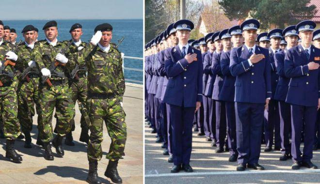Foto: Poliţiştii şi militarii vor primi ajutor pentru ratele la casă.