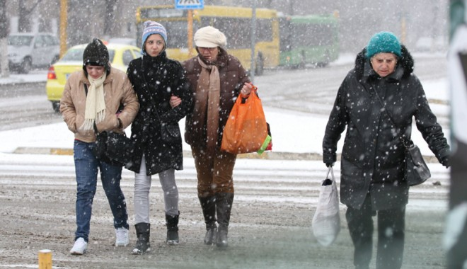 Meteorologii anunţă: Cât de grea va fi iarna aceasta, la Constanţa.