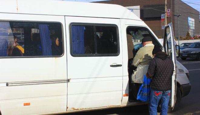 Foto: Microbuzele, pe făraş! Autobuze  Mercedes sau Isuzu, pentru constănţeni