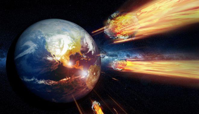 Terra poate fi lovită de un asteroid.