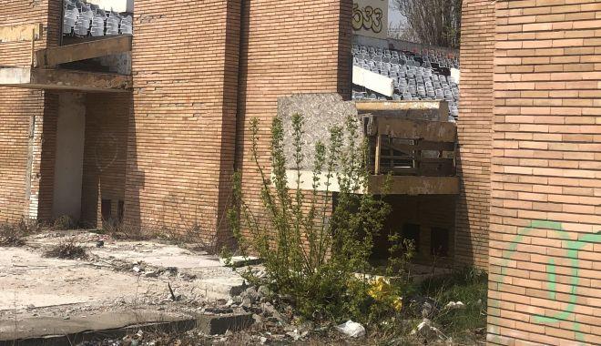 """Foto: Ruine şi buruieni! """"Palatul festivalurilor"""" din Mamaia, un monument al neputinţei"""