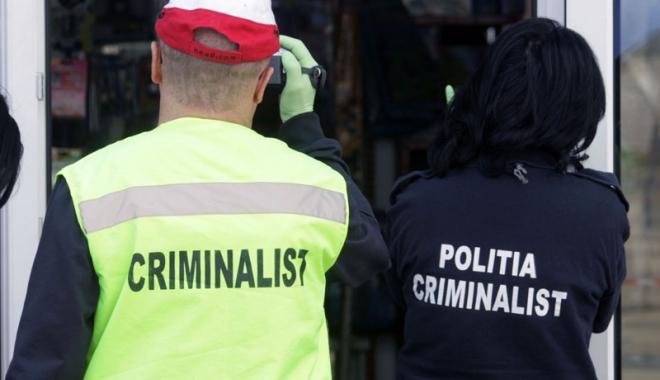 Foto: Cum se ţin poliţiştii pe urmele criminalilor şi care  sunt detaliile care fac diferenţa