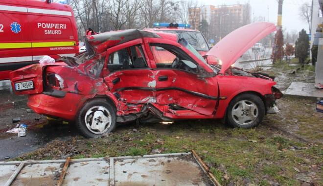 Foto: Tragedii rutiere pe şoselele Constanţei