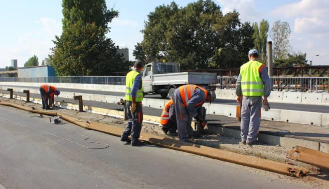 Foto: Constanţa intră în amenajare rutieră. Podul IPMC, în sfârşit finalizat!