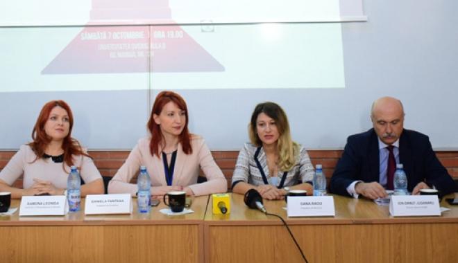 """Foto: Soluţii pentru turismul de pe litoral, la conferinţa JCI Constanţa """"Trebuie să educăm angajaţii, dar şi turiştii"""""""