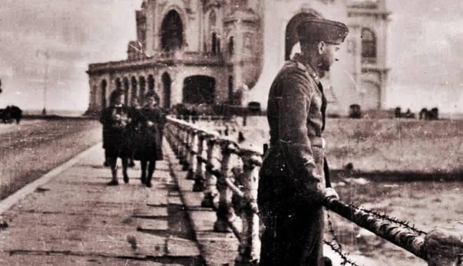 Foto: Ororile celui de-Al Doilea Război Mondial. Constanța, în suferință: cadavre decapitate pe plajă și clădiri bombardate!