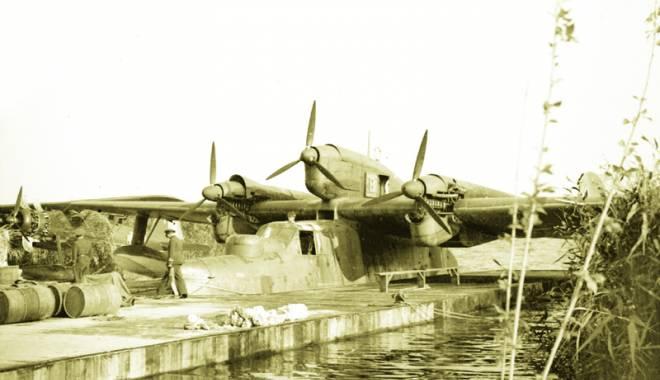Foto: Hidroaviaţia de la Palazu Mare, scufundată în… uitare