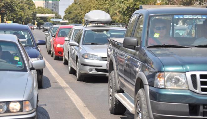 Foto: Atenţie, constănţeni! Trafic îngreunat pe bulevardul Tomis!