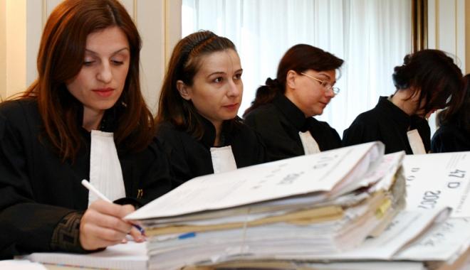 Foto: Magistraţii constănţeni, front comun împotriva modificării Legilor Justiţiei