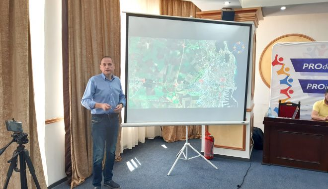 """Foto: Deputatul Mircea Dobre: """"Este nevoie de o nouă șosea de centură a Constanței"""""""