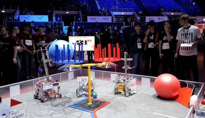 VIDEO. Mirciştii scriu istorie în învăţământul constănţean. Robotul lor a fost răsplătit cu două premii - fondmircistii-1490801547.jpg
