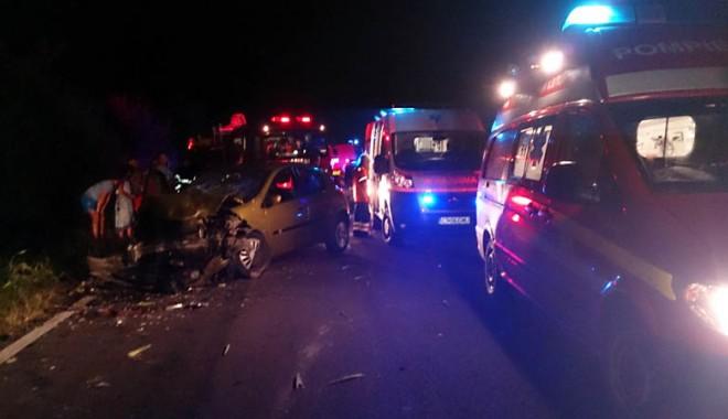 Foto: Familia unui interlop din Mangalia, ucisă într-un  accident rutier. Şoferul vinovat cere protecţia poliţiei