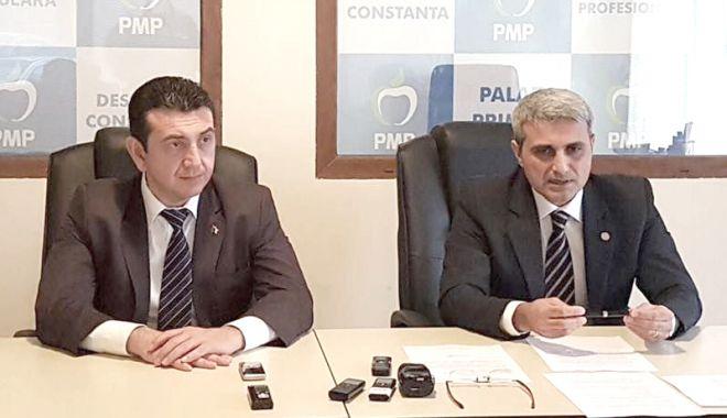 Foto: Scandal în PMP Constanța. Deputatul Robert Turcescu îi cere lui Claudiu Palaz să renunțe la colaborarea cu PSD