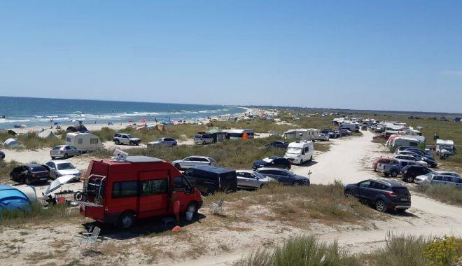 Foto: Plaje fără salvamari pe litoralul românesc.