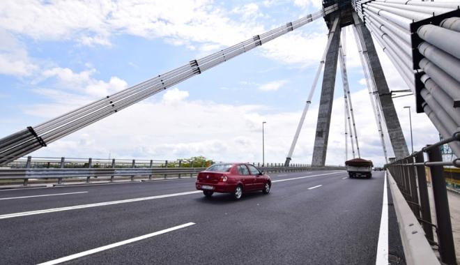 Foto: Podul Agigea, închis complet traficului trei zile. Lucrările  vor dura până în noiembrie