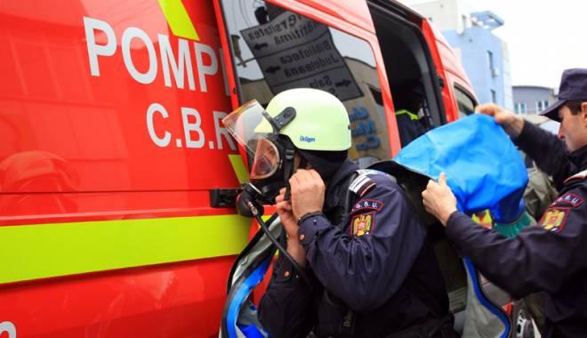 Foto: Accident nuclear grav la CNE Cernavod�. Cum va trece ISU Dobrogea testul
