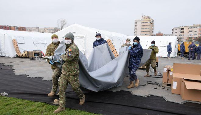Foto: Pregătiri în spitalele din Constanța, pentru preluarea pacienților cu Covid-19