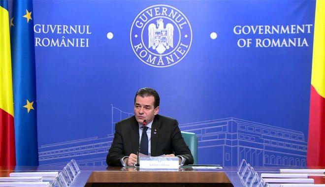 Foto: Prim-ministrul Ludovic Orban explică ce se întâmplă cu pensiile românilor