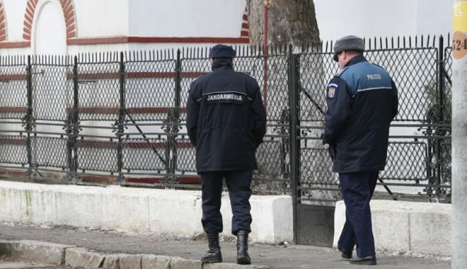 Foto: Agenţii de poliţie din Constanţa se răzvrătesc