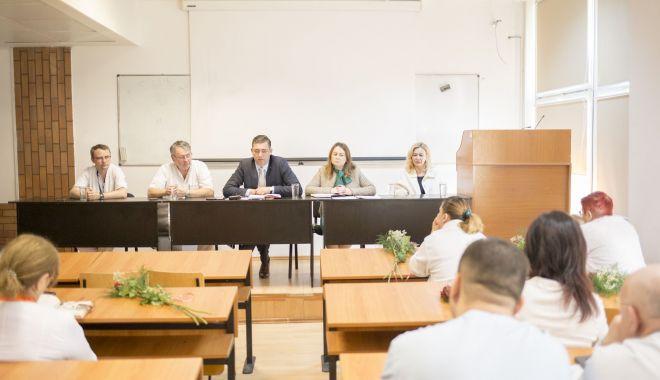 Foto: Șefii de secții din spitale, chemați la raport de președintele CJC Marius Horia Țuțuianu
