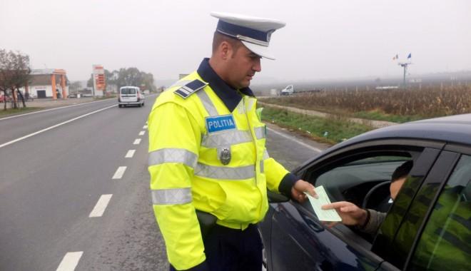 Foto: Mai iau şpagă poliţiştii rutieri  din Constanţa de la şoferi?