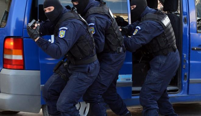Foto: Jandarmii în acţiune, la Ovidiu!