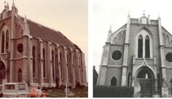 Povestea tristă a Templului Sefard din Constanța, clădirea impozantă din care a rămas doar amintirea! - fondtemplusefarddemolat1-1574804561.jpg