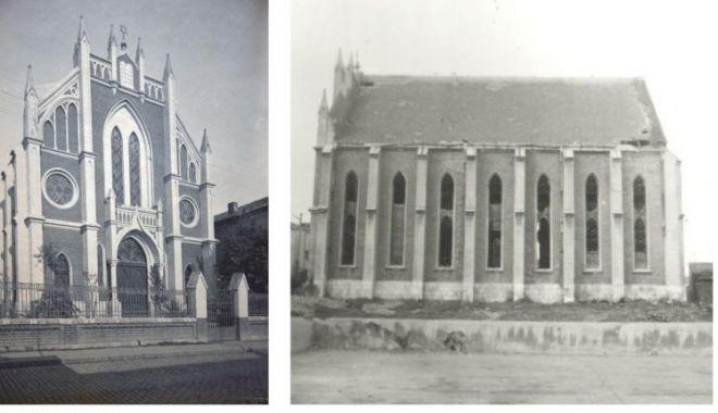 Povestea tristă a Templului Sefard din Constanța, clădirea impozantă din care a rămas doar amintirea! - fondtemplusefarddemolat2-1574804601.jpg
