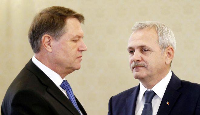 Foto: Tensiuni între PSD și președintele Iohannis, pe tema referendumului