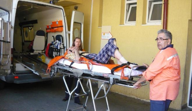 """Foto: La Urgenţă nu e ca la piaţă! """"Dacă va muri cineva în triaj, atunci înseamnă că am greşit"""""""
