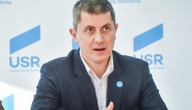 Foto: USR are un nou lider. Dan Barna: Vrem unitate în partid, duşmanul real pentru noi e PSD