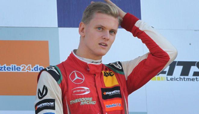 Foto: Aşa tată, aşa fiu. Mick Schumacher, cel mai rapid în teste la Jerez