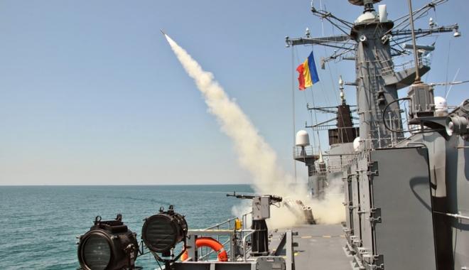 Foto: Forţele Navale Române participă la exerciţiul multinaţional Sea Breeze 16