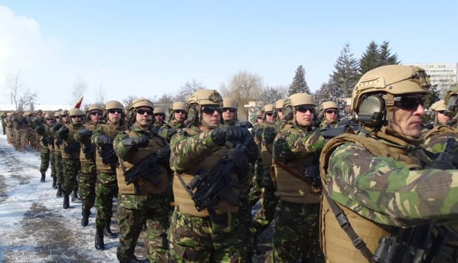 Foto: Forțele pentru Operații Speciale -  Militari obișnuiți cu misiuni neobișnuite!