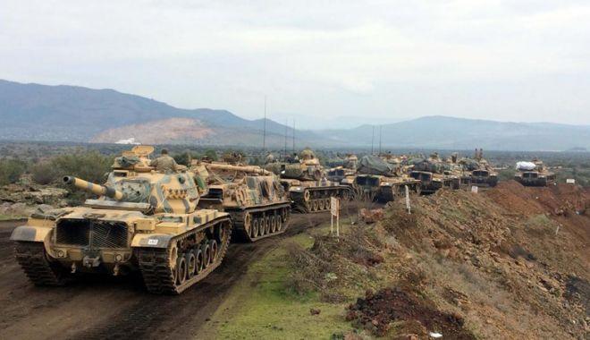 Foto: Forţele turce şi aliaţi ai lor sirieni au intrat în oraşul Afrin