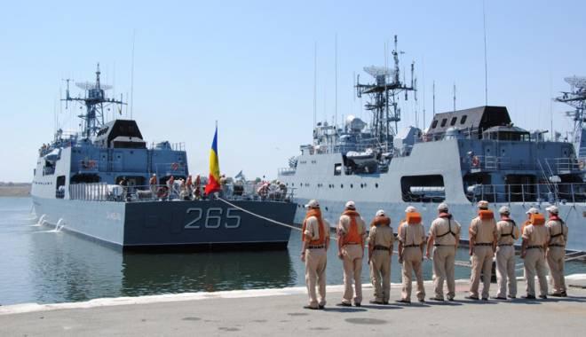 """Foto: Forţele Navale Române pornesc """"ofensiva"""" în Marea Mediterană şi Marea Marmara"""
